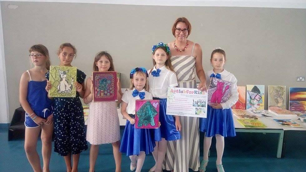 "На международной фестивале ""Pafos International Children~s Festival"""