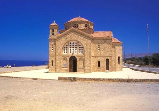 церковь Агиос Георгиос на Кипре